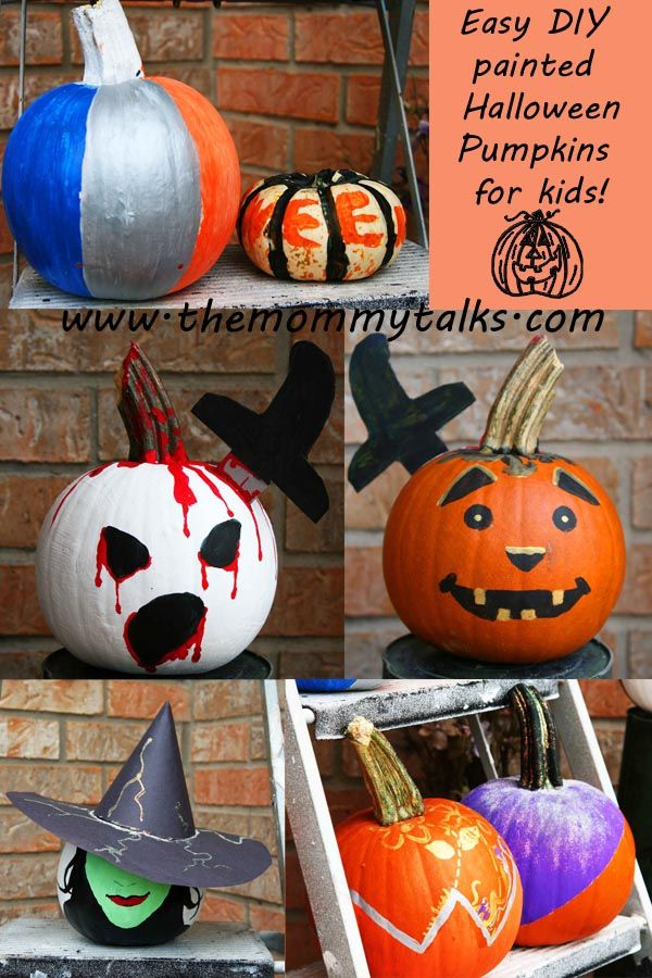 17 Best Images About Painted Pumpkins On Pinterest Olaf