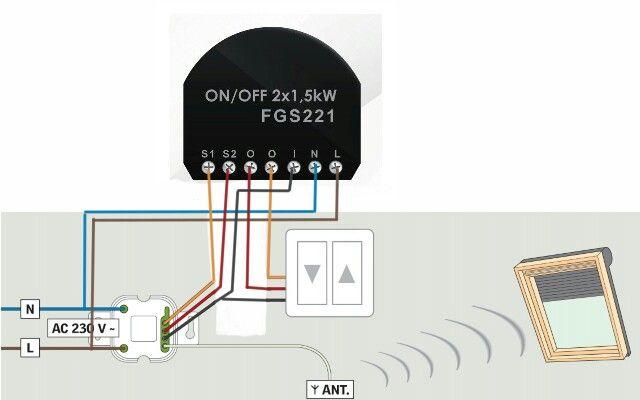 Velux Klf 100 Wiring Diagram