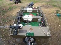 trolling motor set up for jon boats | Rod holders for jon ...