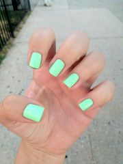minty fresh. haha- mint colored