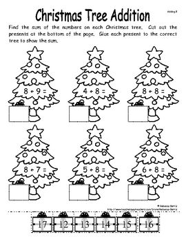 25+ best ideas about Christmas Math on Pinterest