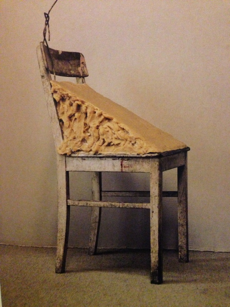 Joseph Beuys Chair with fat  inspiration  Pinterest