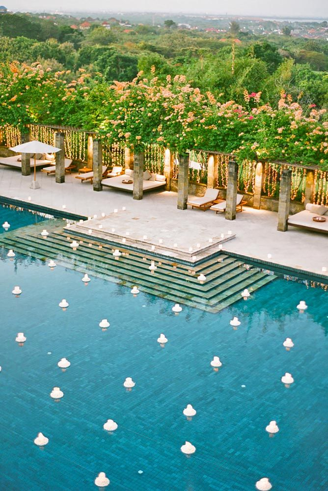 25+ best ideas about Backyard wedding pool on Pinterest