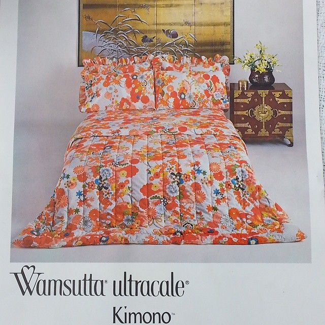 Offering a vintage bedding set by Wamsutta Ultracale in