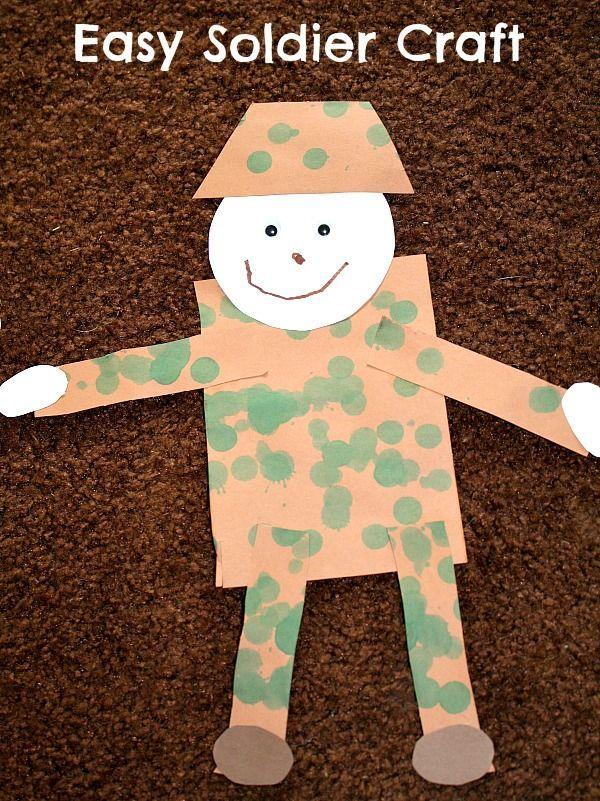 veterans day crafts for preschoolers
