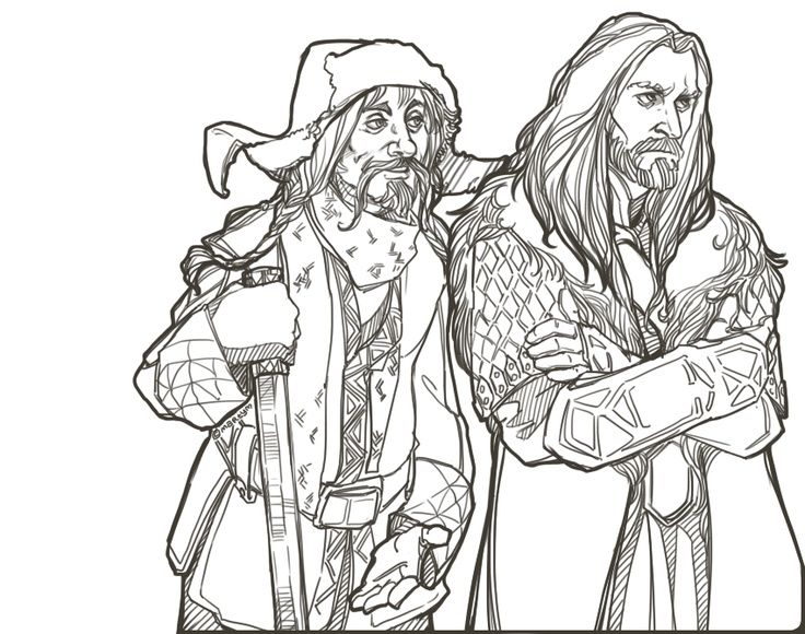 29 best images about Hobbit Colouring Pages on Pinterest