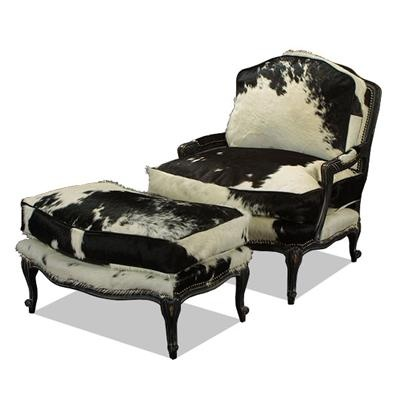 hickory chair leather couch alps mountaineering king kong folding 17 best images about furniture: couture cow on pinterest | western furniture, furniture and ottomans