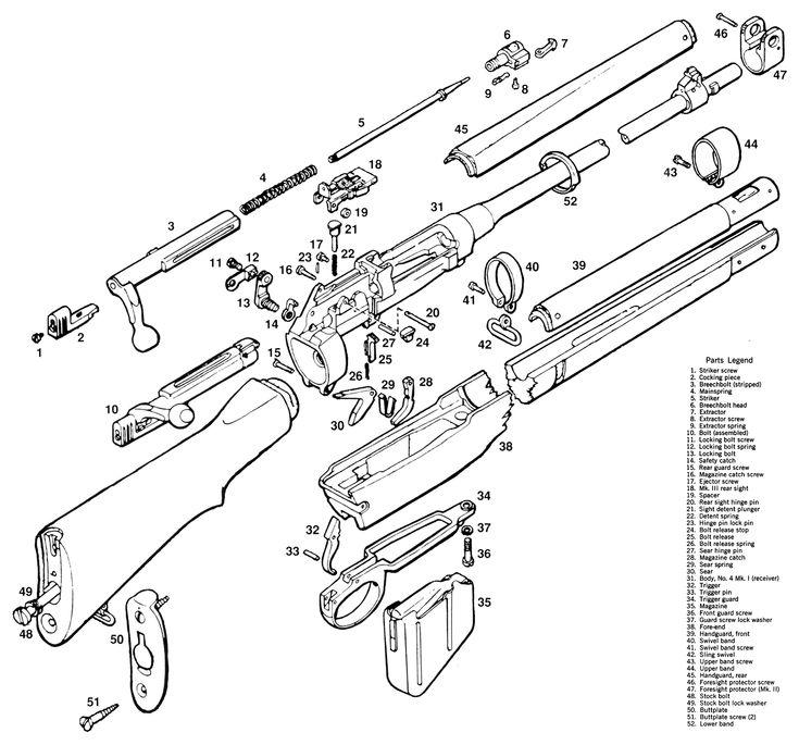 Diagram Lee Enfield Rifle No 8 Wiring Diagram Schematic Circuit