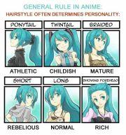 rule of anime hair. interesting