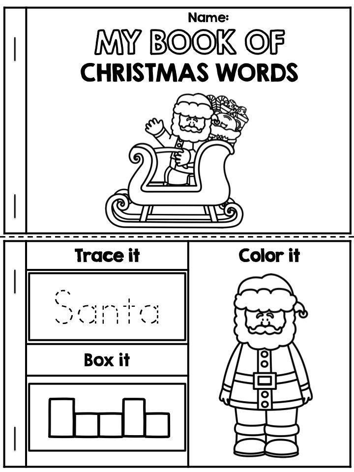 1000+ images about pre-k christmas activities on Pinterest