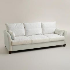 Slipcover For Sofa Cushions Separate Beige Leather Sofas Uk Luxe 3-seat Frame | Wood Construction, Cost ...