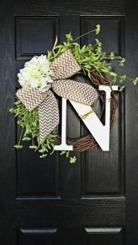 25+ Best Ideas about Door Wreaths on Pinterest