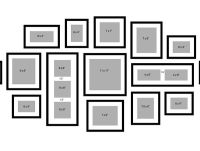 1000+ ideas about Wall Frame Layout on Pinterest | Frame ...