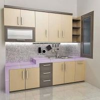 Contoh Kitchen Set Sederhana | Dapur Minimalis Idaman ...