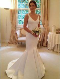 Best 25+ Satin wedding dresses ideas on Pinterest | Satin ...