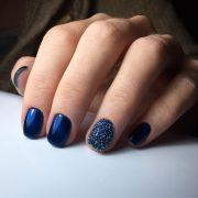 dark blue nails ideas