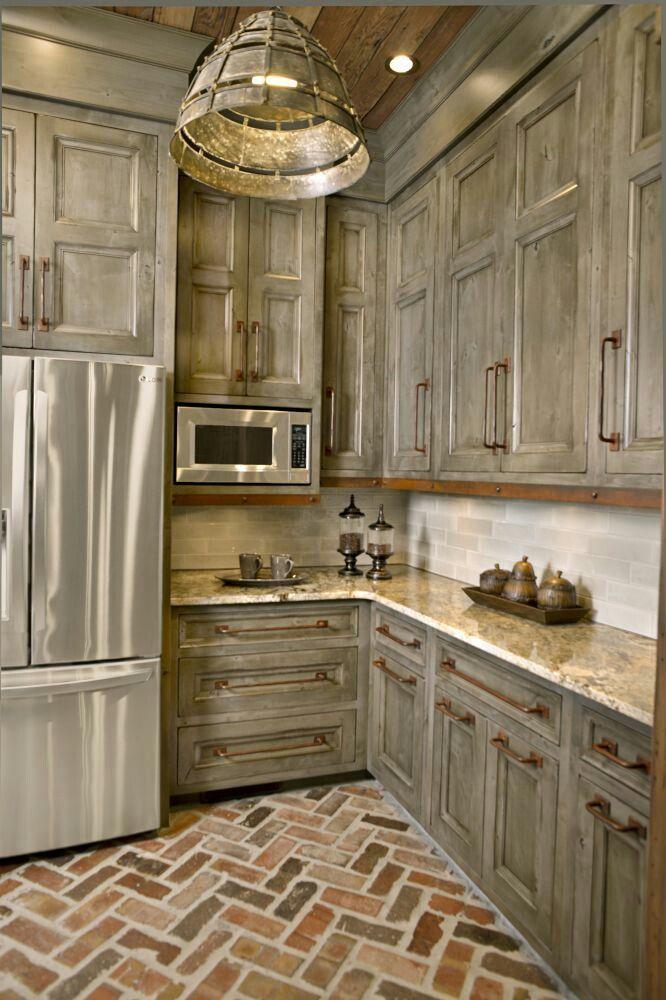 Best 25 Brick floor kitchen ideas on Pinterest  Wood