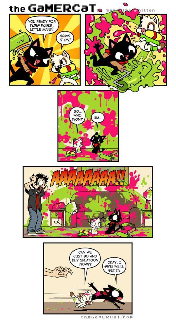 thegamercat Read the next comic on Tapastic! Kawaii