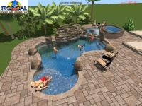 Tropical Pools And Pavers | Professional 3D Pool Design ...