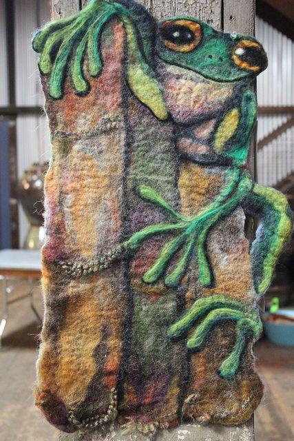 17 Best Images About Needle Felt Tapestry Art On Pinterest