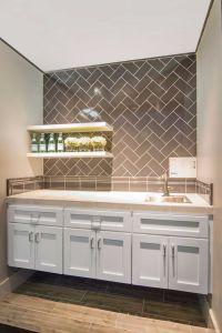 Home bar designs, counter backsplash tile - Imperial ...