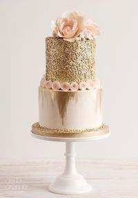 25+ Best Ideas about Gold Cake on Pinterest | Gold ...