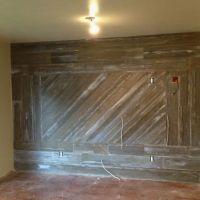 barn wood wall | Barn-wood wall | Remodeling Ideas ...