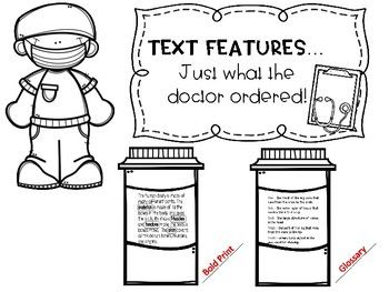 54 best images about Reading-Text Features on Pinterest