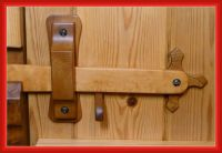 Top 25 ideas about Wooden door knobs & latches on ...