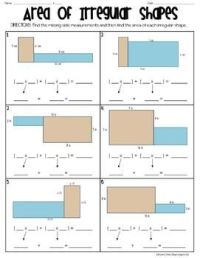 17 Best images about Perimeter and Area on Pinterest ...