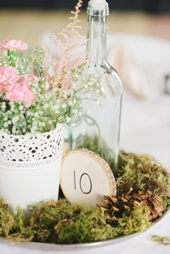25 Best Ideas About Garden Wedding Centerpieces On Pinterest