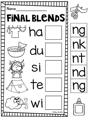 17 Best images about Final Consonant Blends on Pinterest