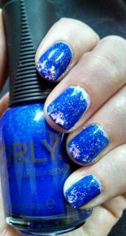 1000 ideas blue french tips