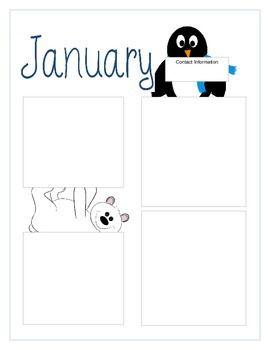 99 best images about Teacher: Calendar & Newsletter