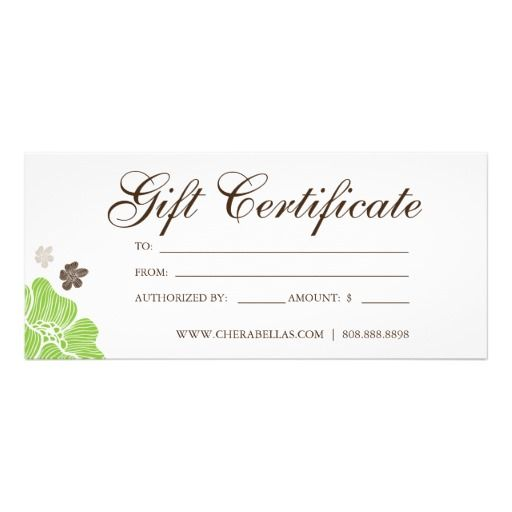 24 best images about Salon Gift Certificates on Pinterest