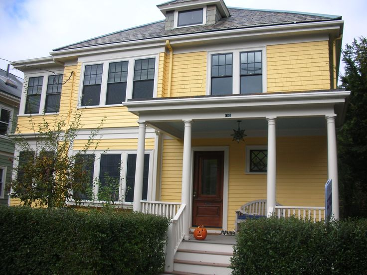 36 Best Images About Yellow Houses On Pinterest House