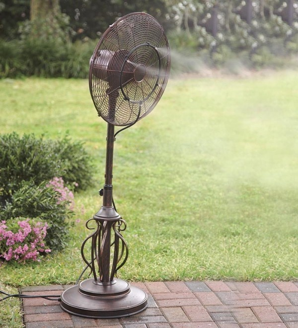 14 best images about Misting Fans on Pinterest  Wall