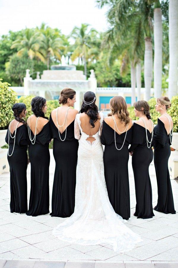 Stunning black and white wedding photos