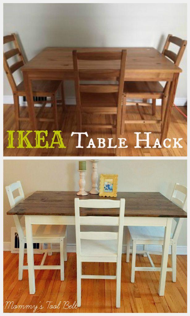 25+ best ideas about Ikea Table Hack on Pinterest