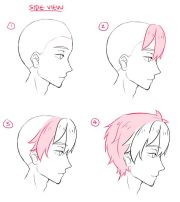 anime boy hair ideas