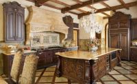 Stunning Old World Tuscan Kitchen Style With Marble ...