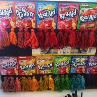 Dip Dye Kool Aid Recipe Dark Brown Hairs Of Kool Aid Hair ...