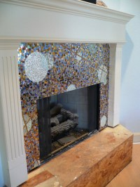 323 best images about mosaic fireplace on Pinterest ...