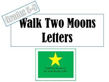 14 best images about Walk Two Moons Novel Study on