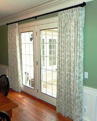 Best 25+ French door curtains ideas on Pinterest   Door ...