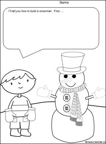 17+ best images about Kindergarten Winter on Pinterest