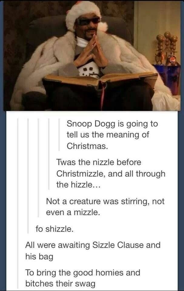 Snoop Doggs Christmas story  Corny But Had To Pin It