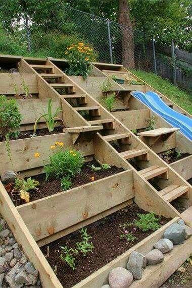 25 Best Ideas About Steep Gardens On Pinterest Steep Backyard