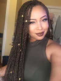 1000+ images about Braids on Pinterest | Big box braids ...