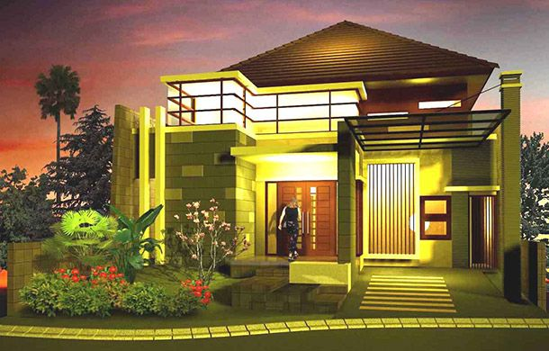 Denah Rumah Adat Jawa Timur